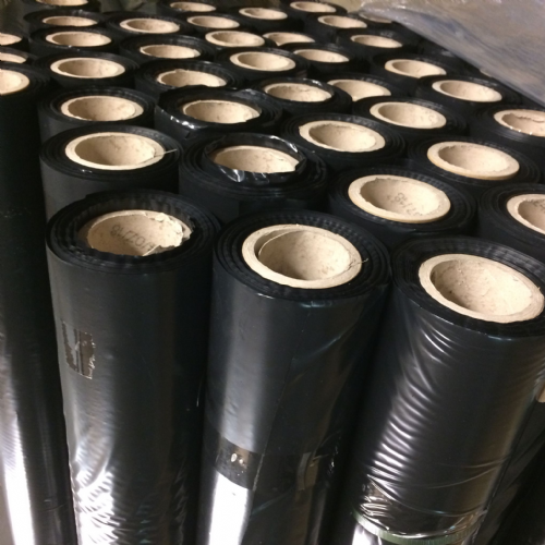 1M x 100M Black Polythene 400 Gauge